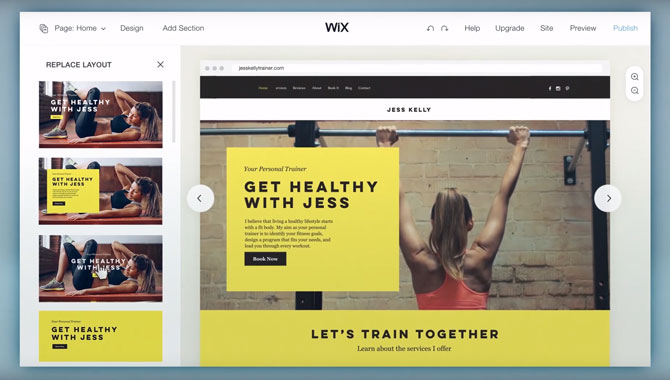 Wix Artificial Design Intelligence